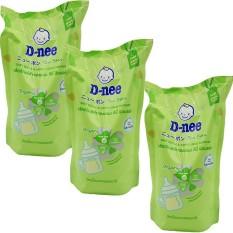 Combo 3 Gói Dnee Rửa Bình Sữa Cho Bé 600ml
