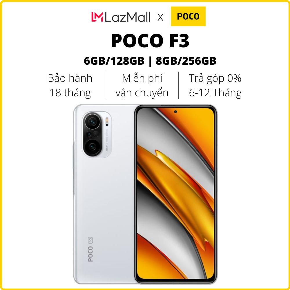 Điện thoại POCO F3 (6GB/128GB | 8GB/256GB) – Hàng chính hãng DGW – Bảo hành 18 tháng – Trả góp 0%