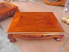 bàn osin , bàn nhật gỗ hương campuchia kích thước 30cm 30cm cao 12 cm giá bán 270k một cái