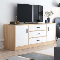 💥GIÁ SỐC💥Tủ tivi phòng khách dài 1m2, kệ tủ tivi, tủ tivi đẹp, tủ tivi gỗ MDF chống thấm TUR035