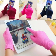 2 đôi Găng tay len bấm được điện thoại cảm ứng (dành cho Nữ)