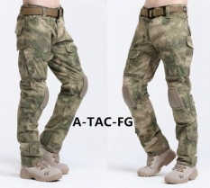 2017 HOT SALE Cargo pants Camouflage tactical army pants combat multicam militar tactical pants with knee pads S ( FG) – intl