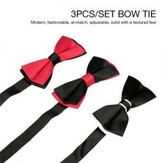 Có thể điều chỉnh Dây Thắt Nơ Thắt Nơ Đính Hạt Thời Trang Chính Thức Mặc Dự Tiệc Cưới Bowtie C107 + C109 + C110-quốc tế