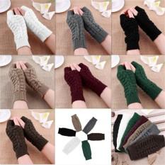 Cặp găng tay len dệt kim mềm mại thời trang mùa đông cho nữ – INTL