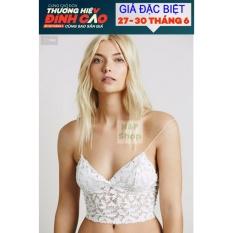 Áo bra gợi cảm kiểu dáng Âu Mỹ – giá rẻ (màu trắng)