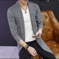 Áo cardigan len dáng dài cực chất 2017 ZAVANS(Xám)