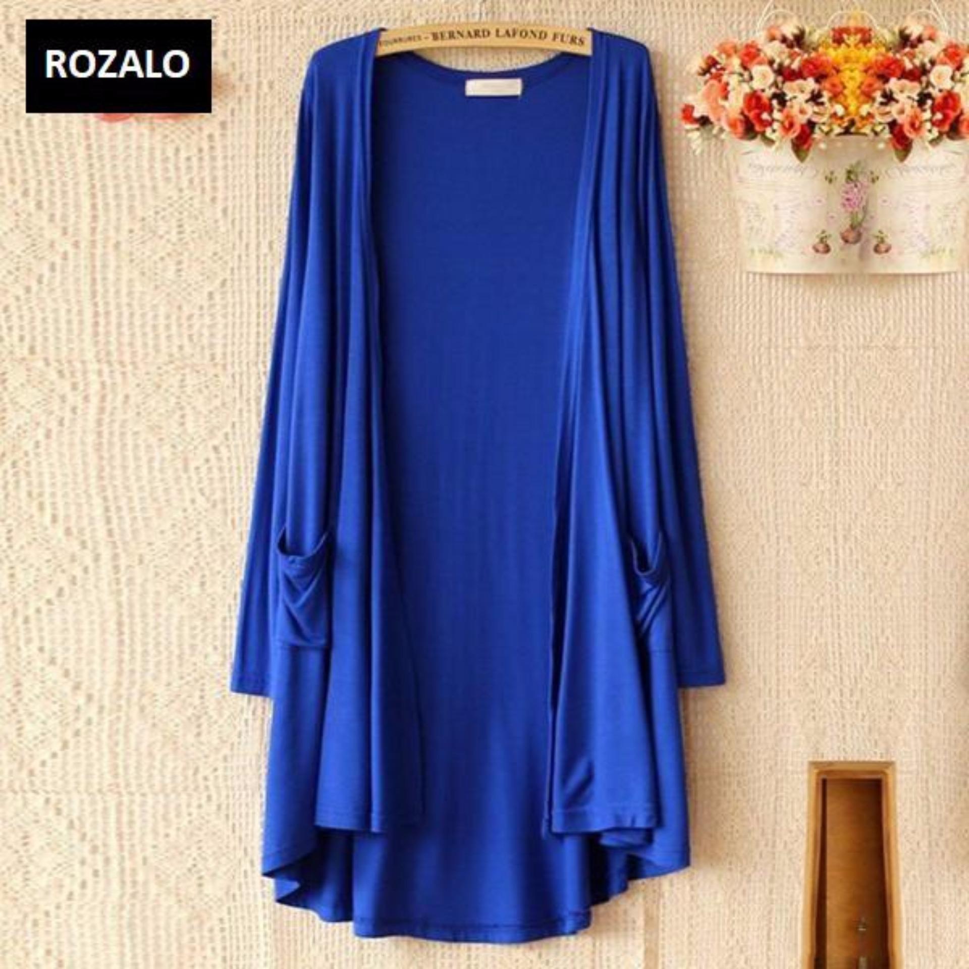 Áo Cardigan nữ thời trang Rozalo ZWA76580XS – Màu xanh – Trẻ trung năng động