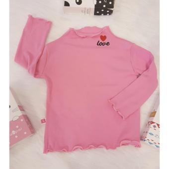 Báo Giá Áo cotton len bé gái cổ xoắn  Shop Nhà Bông 1