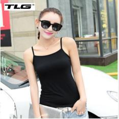 Áo hai dây cotton phong cách Hàn Quốc TL6355 1(đen)