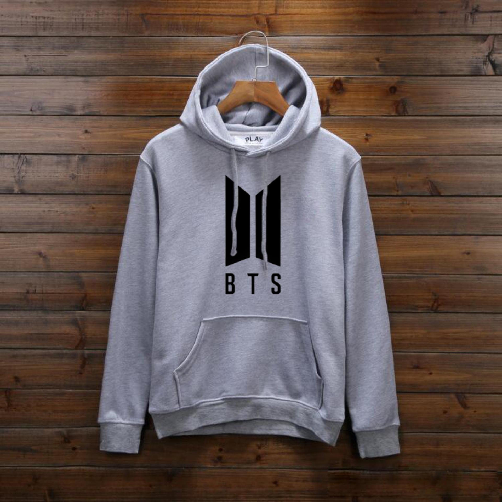 Áo Hoodie BTS Logo Mới