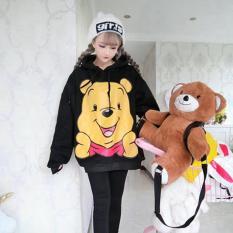 Áo Hoodie Nữ Gấu Pooh Đáng Yêu Mway WM TOP 800087V1