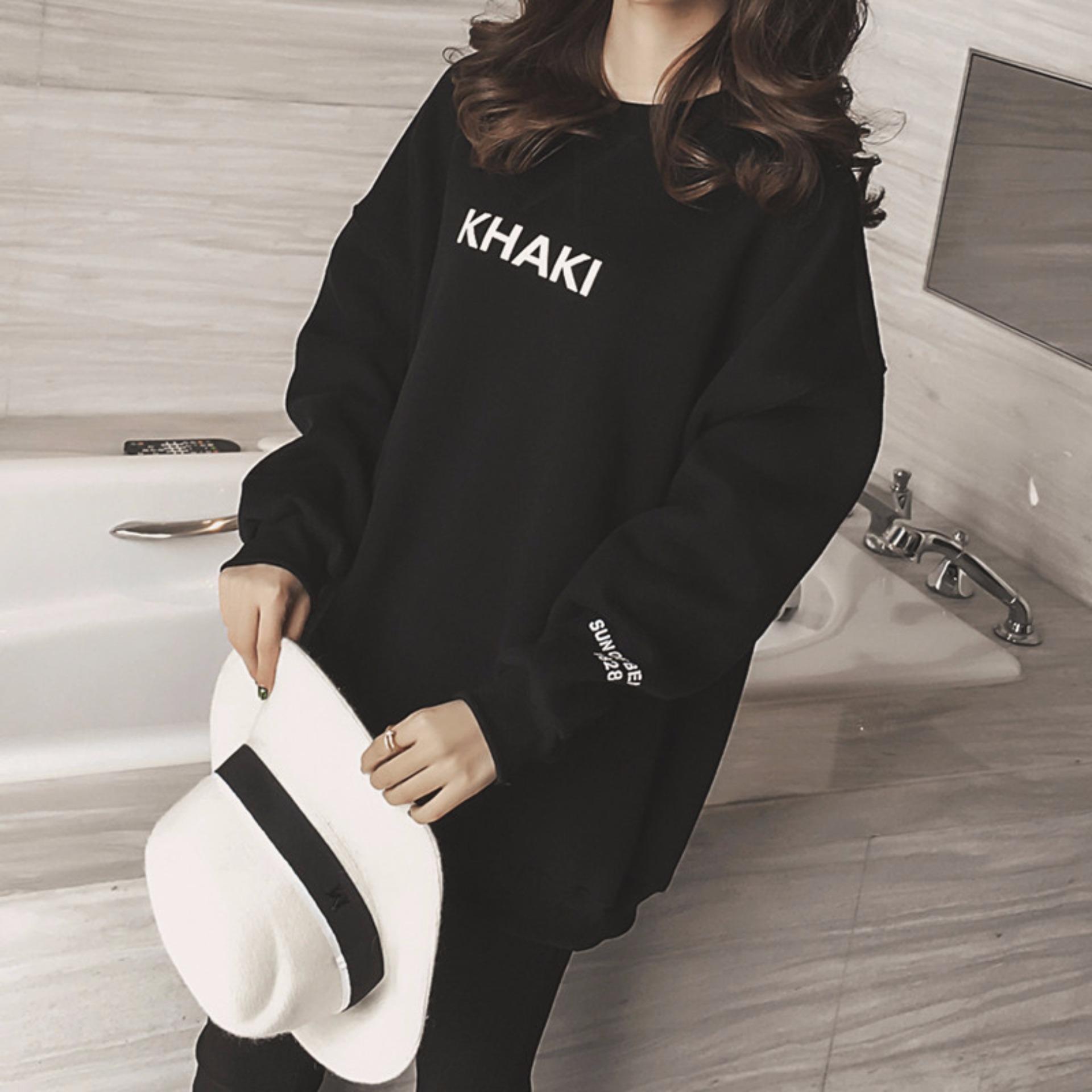 Áo hoodie nữ H&H 1985 HH1813 (Màu đen)