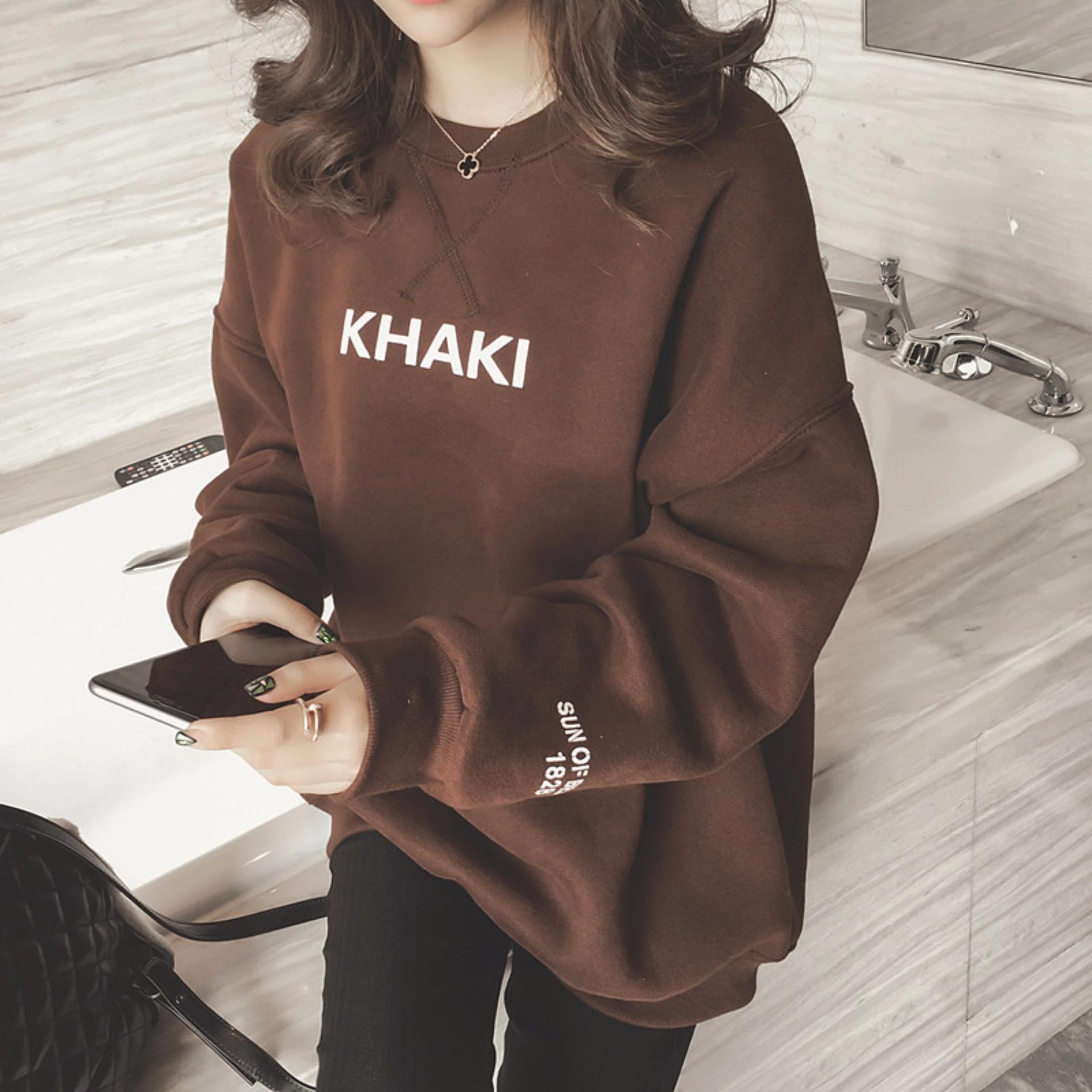 Áo hoodie nữ H&H 1985 HH1813 (Màu nâu)