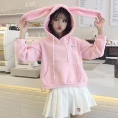 Áo hoodie tai thỏ siêu cute giành cho bé