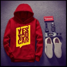 ÁO HOODIE YES YOU CAN