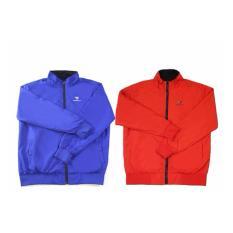 Áo khoác 2 mặt nam nữ cao cấp – Màu xanh, đỏ