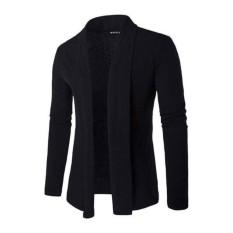 Áo Khoác Cardigan Form Dài Nam MS2305 đen