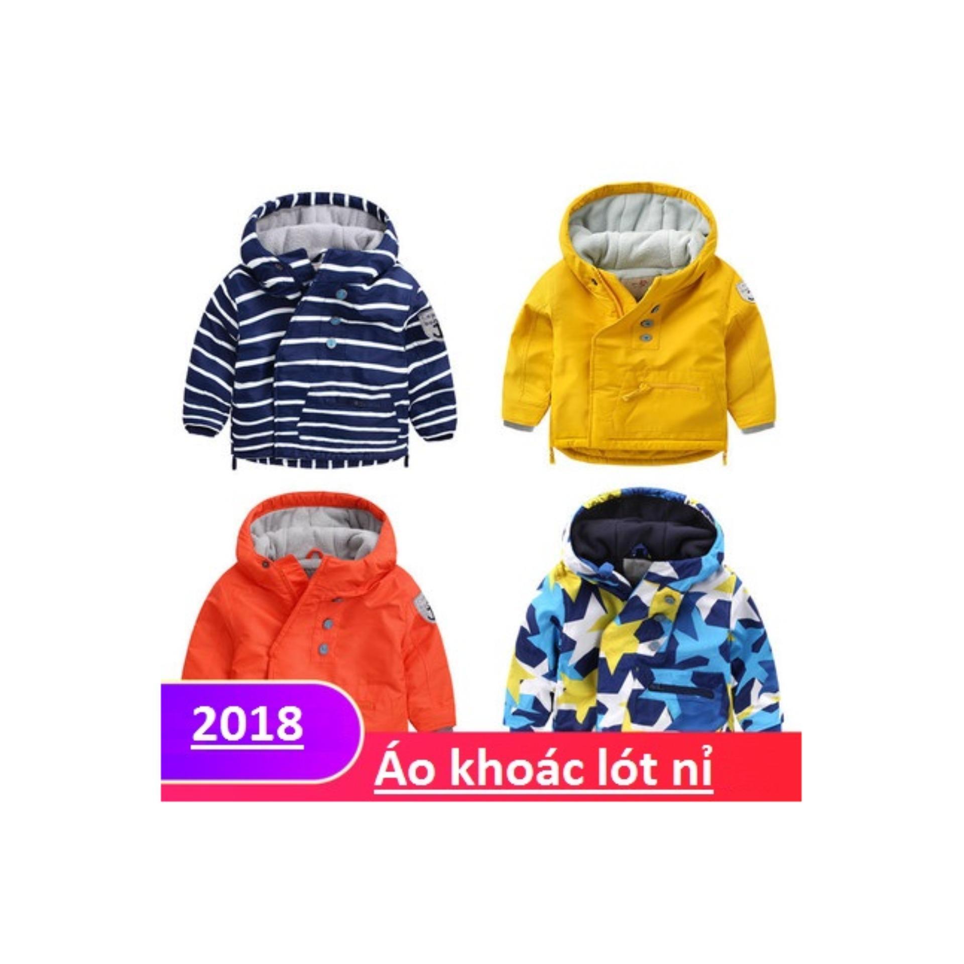 Áo Khoác cho bé trai kiểu dáng 2018 (Hình ngôi sao)