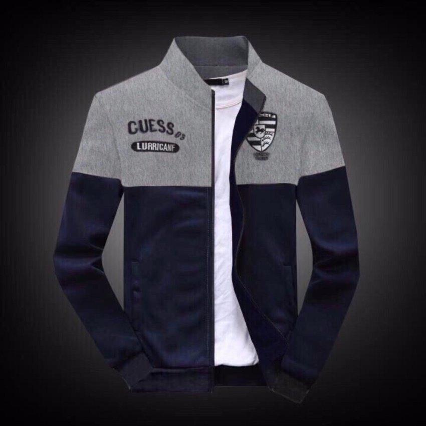 Áo khoác Cuess phong cách hàn quốc thời trang CNV (Xanh đen)