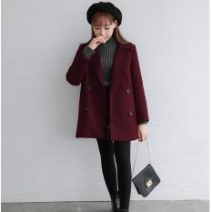Áo khoác dạ form Hàn siêu đẹp 4 khuy