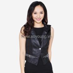 Bảng Giá Áo Khoác Da Gile Cổ Vest Khuy Cài WM JACKET 018CC B  SoYoung (Hà Nội)