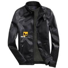 Áo Khoác Da Nam Lót Lông Black Leather Đen Cao Cấp – DAD6