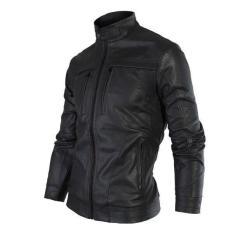 Áo khoác da nam lót lông cao cấp