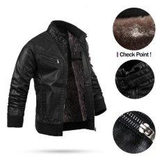 Áo khoác da nam lót lông cao cấp TAHS21