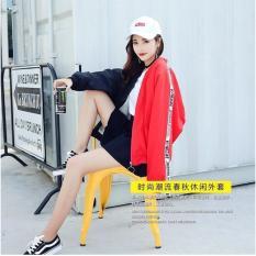 Áo khoác dù 2 màu siêu hot D73 (đen đỏ)