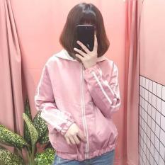 Áo khoác dù nữ hàn quốc Y09 (hồng)