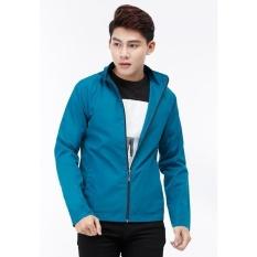 Áo khoác dù Titishop AKN450 2 lớp màu xanh ngọc đậm xxl