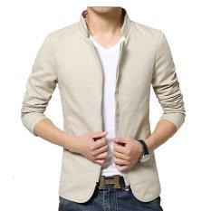 Áo khoác giả vest TITISHOP AKN51 (Kem)