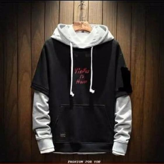 Áo khoác nam hoodie phong cách Hàn Quốc sành điệu