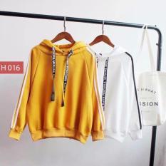 Áo khoác hoodie nữ chữ nhật siêu đẹp H016