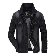 Áo Khoác Jean Nam 3898(màu đen)