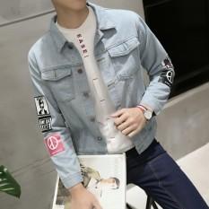 Áo khoác jean nam kiểu dáng Hàn Quốc Kmfashion
