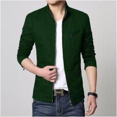 Áo Khoác Kaki Giả Vest IKILA – K2114 (Xanh Lá)