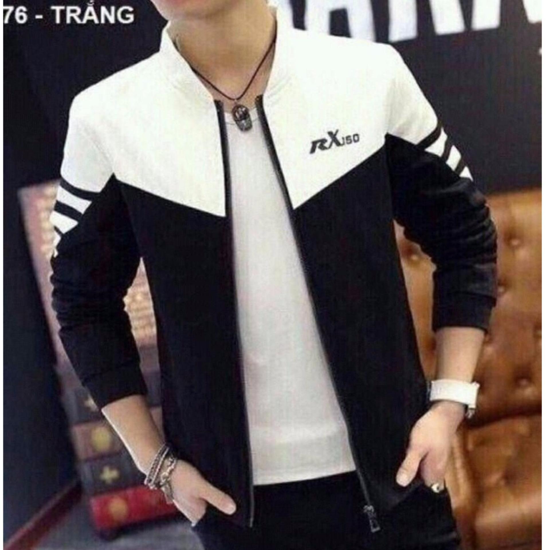 áo khoác kaki rx đen trắng