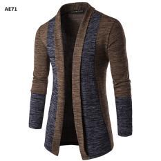 Áo khoác len nam phong cách