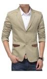 Bảng Giá Áo khoác nam dạng vest Bui Nguyen L412 (Kem)