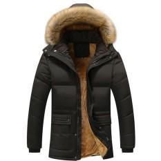 Áo khoác nam lót lông có mũ thời trang AP70