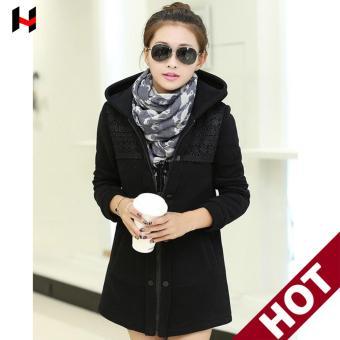 Áo Khoác nữ - áo nỉ nữ -áo hoodie nữ (Đen) cung cấp bởi vnHieu ...
