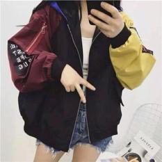 Áo khoác nữ thời trang, màu sắc hiện đại, phong cách trẻ trung – đen phối