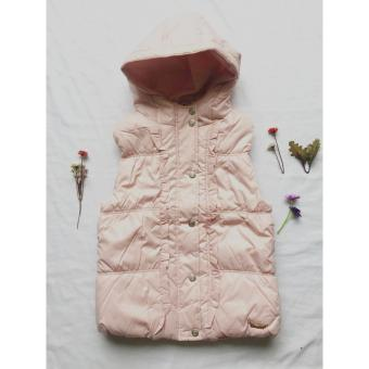Bảng Giá Áo khoác phao ba lỗ bé gái thanh niên mùa thu đông – hồng – ddcatkis city fashion 06109  city fashion