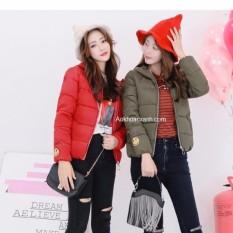 Xả Hàng: Áo khoác phao nữ cao cấp 3 lớp Hàn Quốc có nón