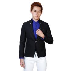 Áo khoác vest body TITISHPOP AKN344 (Đen)