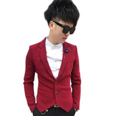 Áo khoác vest body TITISHPOP AKN356 (Đỏ)