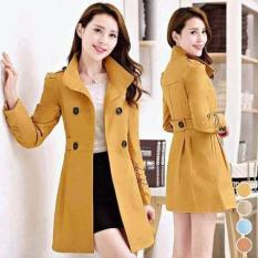 Áo Khoác Vest Form Dài Hana Fashion ( Vàng)