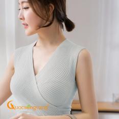 Áo kiểu nữ áo len nữ đẹp màu xám GLA124