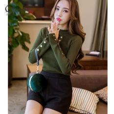 Áo kiểu nữ áo len nữ đẹp GLA151